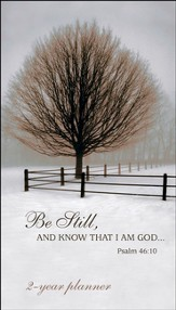 Be Still (Psalm 46:10), 2016-2017 Pocket Planner