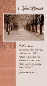 I Know the Plans (Jeremiah 29:11), 2016-2017 Pocket Planner