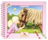 Horses Dreams Coloring Book, Small
