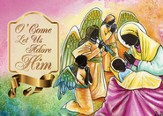 O Come Let Us Adore Him Christmas Cards, Box of 15