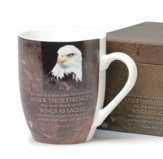 Wings As Eagles, Boxed Mug (Isaiah 4031)