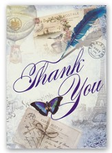 Thank You, Travel Cards, Box of 12