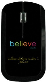 Believe USB Wireless Mouse, Black