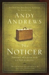 The Noticer: Sometimes, All a Person Needs Is a Little Perspective - Slightly Imperfect