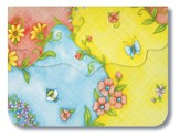 Bee & Butterfly, Purse Pad