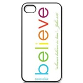 Believe iPhone 4 Case, White