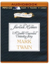 Sherlock Holmes: A Double-Barreled Detective Story - unabridged audio book on MP3-CD