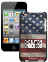 One Nation Under God America Flag iPod Touch 4G Case