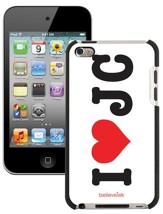 I Heart JC iPod Touch 4G Case