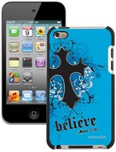Believe with Cross iPod Touch 4G Case, Blue