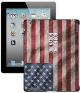 One Nation Under God America Flag iPad Case