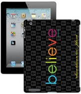 Believe iPad Case, Black