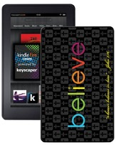 Believe Kindle Fire Case, Black