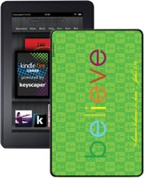 Believe Kindle Fire Case, Green