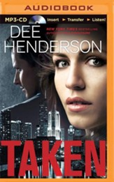 Taken - unabridged audiobook on MP3-CD