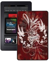 Truth Lion, John 14:6 Kindle Fire Case, Red