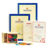 ShillerMath Fractions Kit (Grades 2 through  Pre-Algebra)