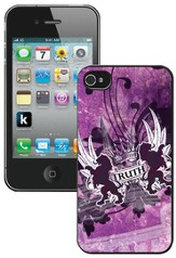 Truth Lion, John 14:6 iPhone 4 Case, Purple