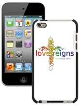 Love Reigns Cross, iPod 4G Case, White