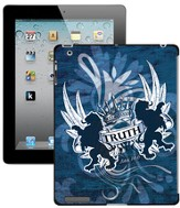 Truth Lion, John 14:6 iPad Case, Blue