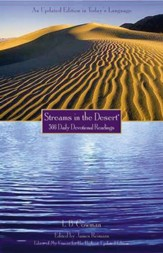 Streams In The Desert - Trade Paperback  - Slightly Imperfect