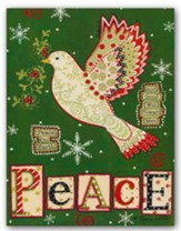 Peace Dove, Christmas Cards, Box of 18