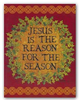Jesus Is the Reason For the Season, Christmas Cards, Box of 18