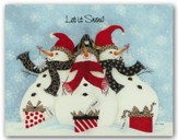 Snowmen, Let it Snow, Christmas Cards, Box of 18