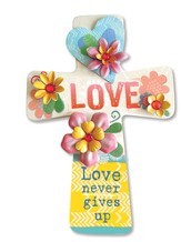 Love Never Gives Up Wall Cross