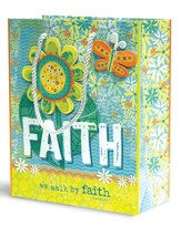 We Walk By Faith Gift Bag, Medium