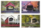 Covered Bridges, Birthday Cards, Box of 12