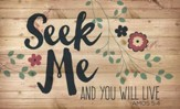 Seek Me, Lath Wall Art