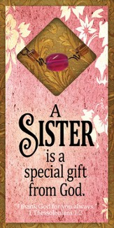 A Sister is A Special Gift Easeled Magnet