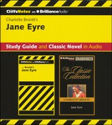 Jane Eyre CliffsNotes Collection - unabridged audiobook on CD