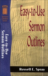 Easy-to-Use Sermon Outlines - eBook