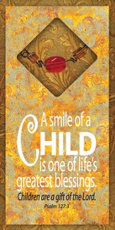 Smile of a Child Easeled Magnet