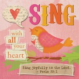 Sing, Canvas Magnet