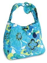 Be Of Good Cheer Hobo Purse, Blue Blossom
