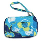 Live A Life Filled With Love Wristlet, Blue Blossom