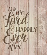 Happily Ever After, Wall Art