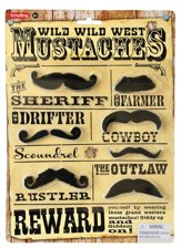 Dress Up Western Mustaches