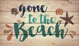 Gone to the Beach, Rustic Wall Art