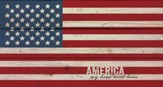 American Flag, Rustic Wall Art