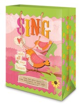 Sing Gift Bag, Medium
