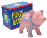 Ceramic Piggy Bank, Pink