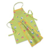 Cupcake Apron & Towel Set