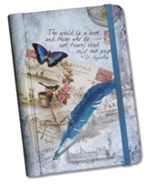 The World Is A Book Address and Password Book Gift set