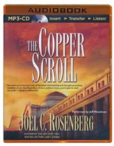 The Copper Scroll - unabridged audiobook on MP3-CD