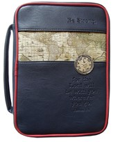 Nautical Compass Bible Cover, Large