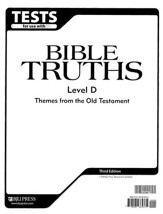 BJU Bible Truths Level D (Grade 10) Tests, Third Edition